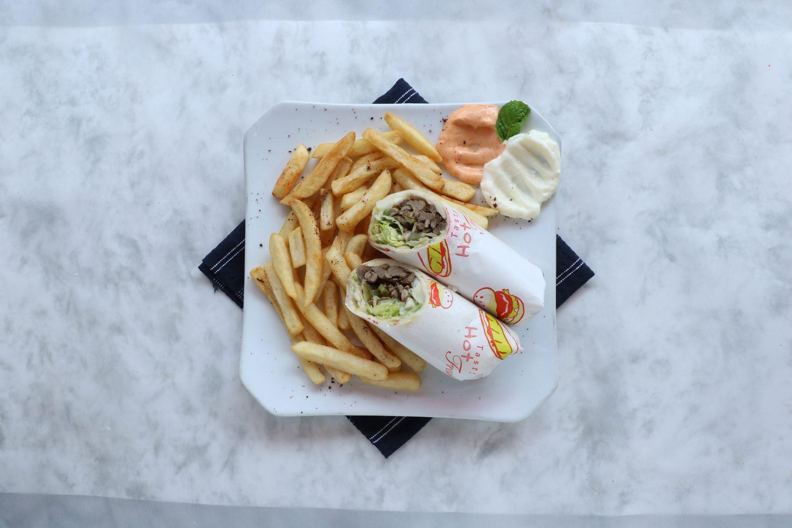 Byblos Grill Lamb Shawarma