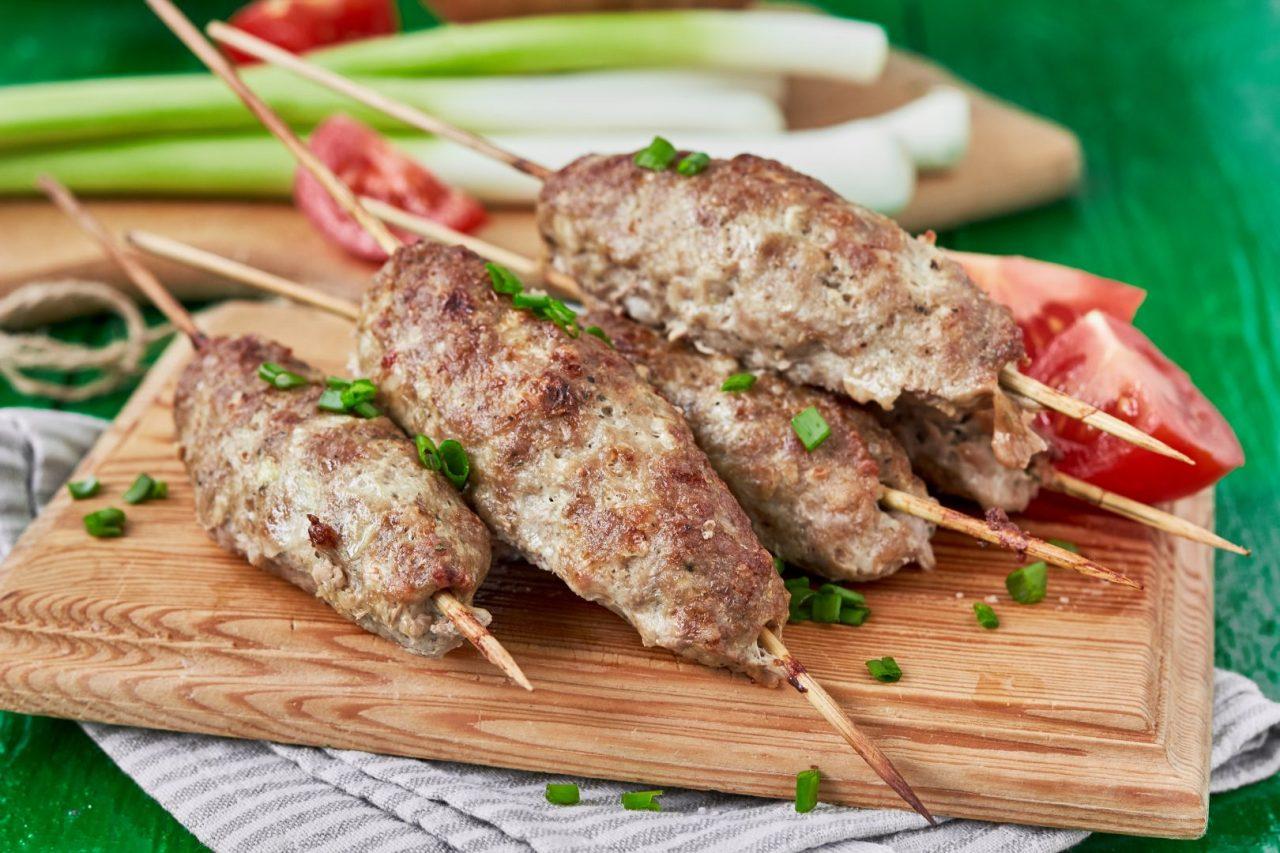Chicken Kofta Lebanese Food