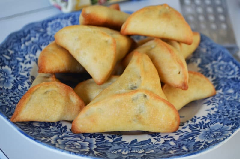 Spinach Fatayar - Lebanese Cuisine Byblos Grill